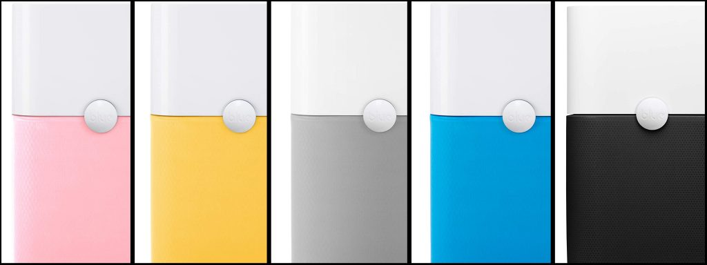 blueair 211 air purifiers with color options, hepa filter with built-in carbon filters and washable prefilter color comparison