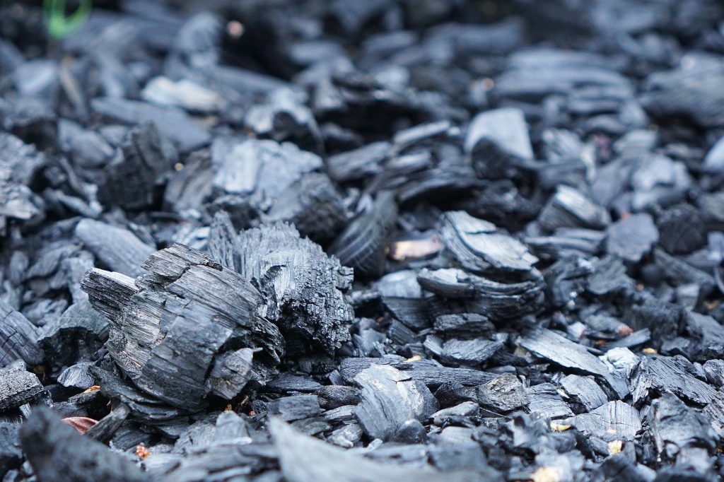 Activated Carbon Filters for Air Purifiers are Made from Charcoal Like This