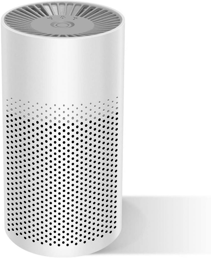 The Three Musketeer air purifier is great for bedrooms and home offices.