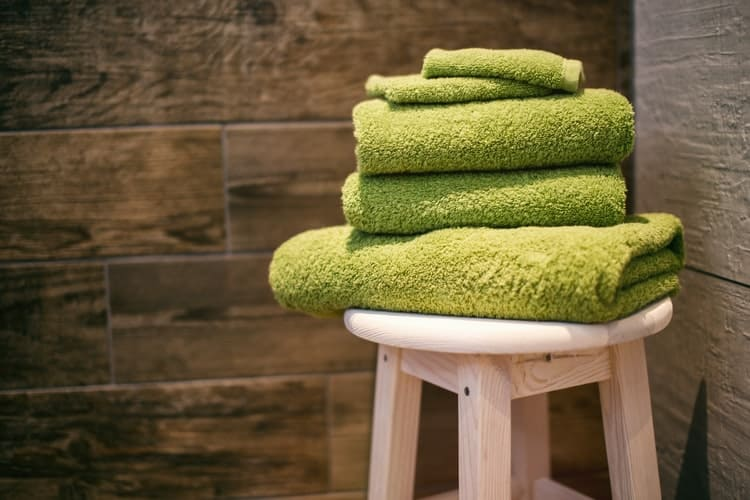 You might need a towel for your water based air cleaner, but it isn't for the reason you might think!